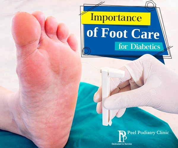 diabetics foot care