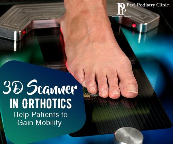 3D laser scanner in orthotics