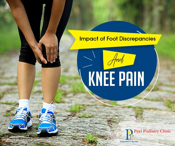 Impact of Foot Discrepancy in Causing Knee Pain