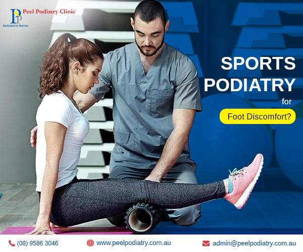 Sports podiatry for foot discomfort