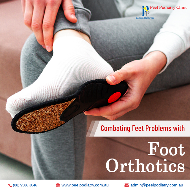 foot orthotics in Mandurah